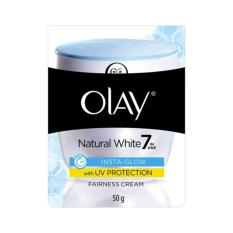 Olay Natural White Insta-Glow Fairness UV Cream 50g