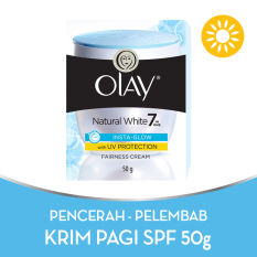 Olay Whitening – Pencerah Natural White Insta-Glow Fairness UV Cream – 50g