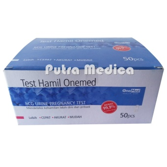 Onemed Alat Tes Kehamilan / HCG Test - 1box