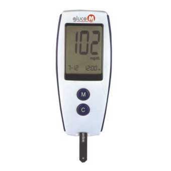 OneMed Gluco M Blood Glucose Monitoring System set 25strip .