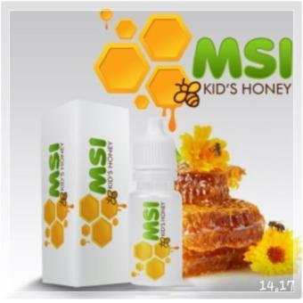 Pahe 2 btl MSI Kids Honey Omega 3 Daya Tahan Imun Kecerdasan OtakTinggi Badan Anak - Rasa Leci   Grosir OSB Kid Vitabrain Omar smartBrain