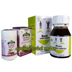 Paket Herbal Madu + Kapsul Penggemuk Badan