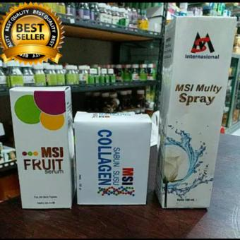 Paket msi 3in1/multy spray +msi fruit serum+msi sabun collagen