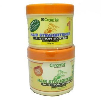 Harga Paket Obat Pelurus Rambut Murah Meriah dari Crrante (2 x 130 ml) – Strong Murah