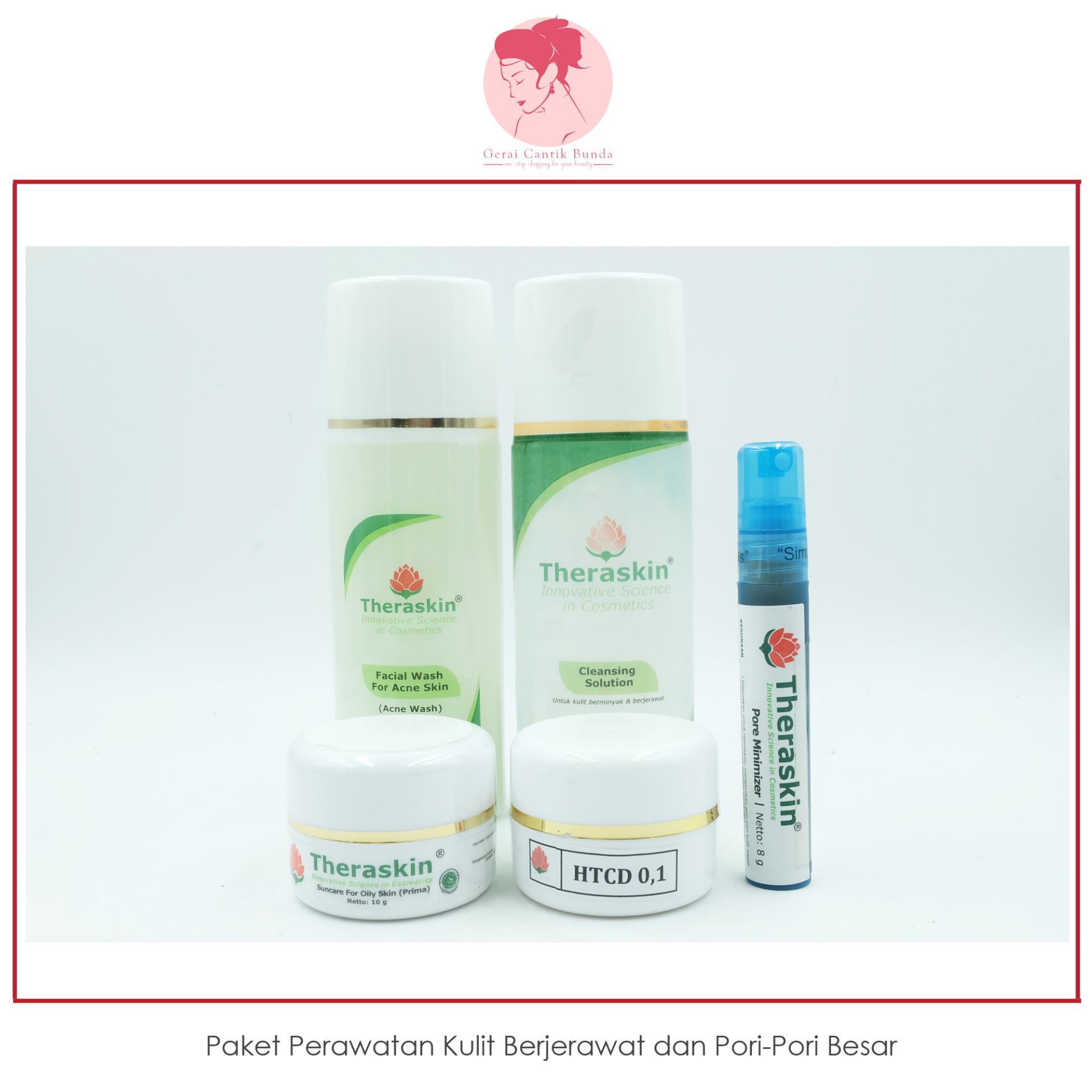... Flash Sale Paket perawatan kulit berjerawat dan pori pori besar Theraskin
