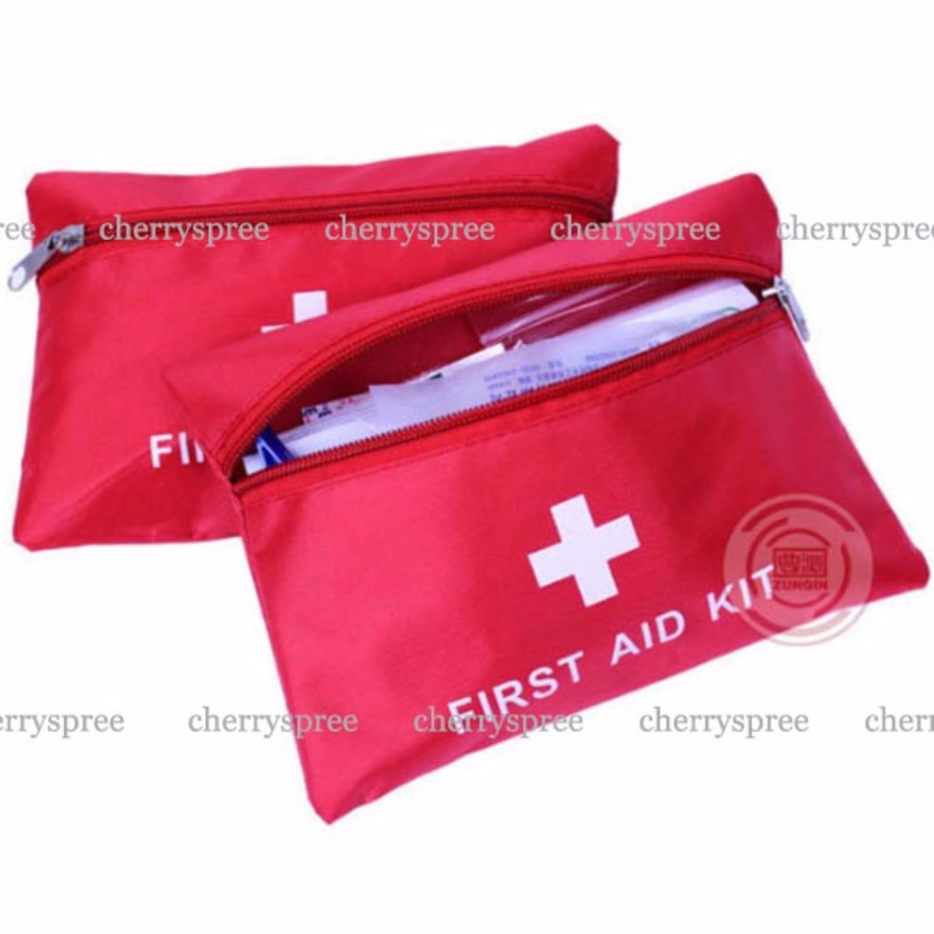 Paket Tas P3K Lengkap dengan Isinya 13in1 Portable Outdoor First Aid Kit 13 .
