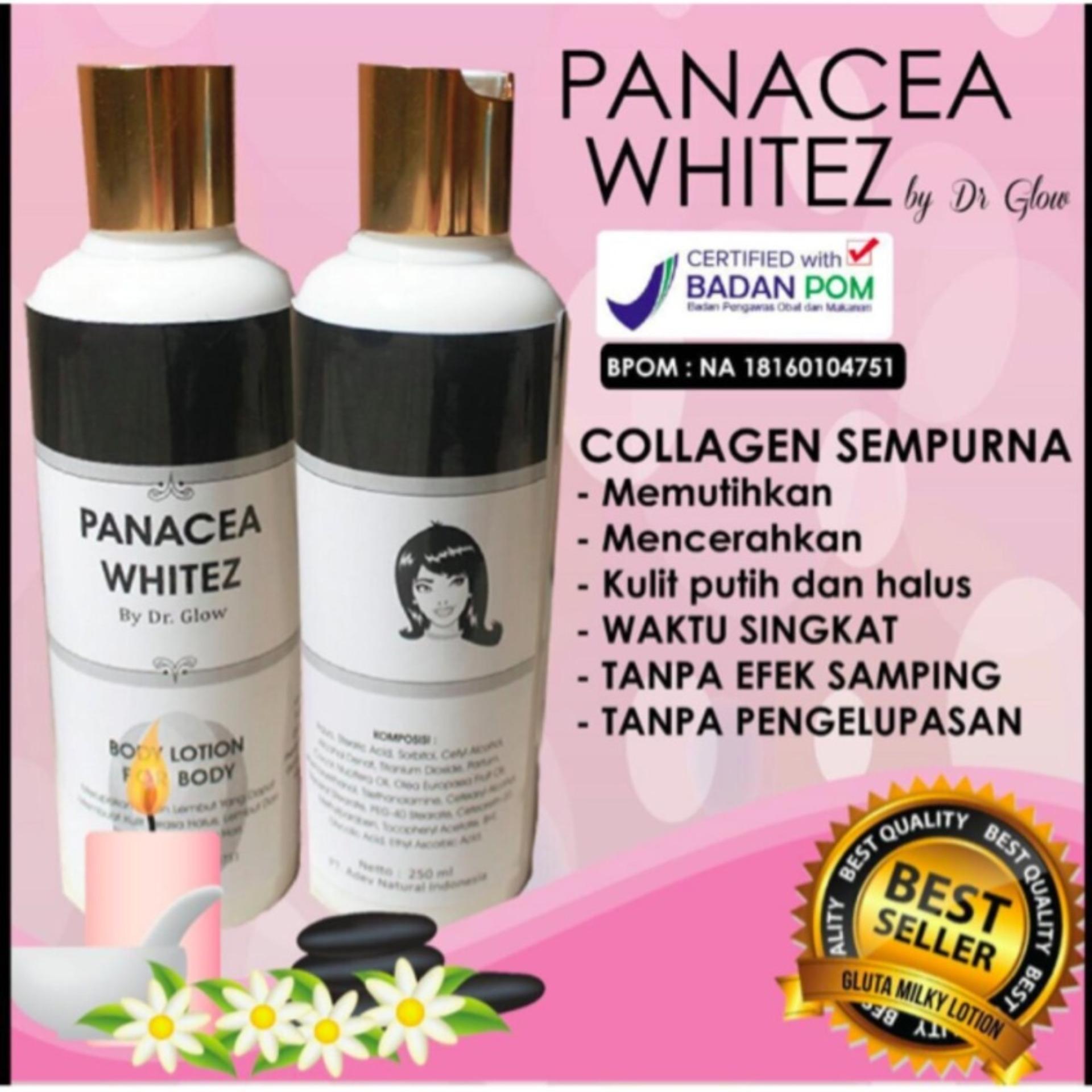 Flash Sale Panacea Whitez Lotion Pemutih BPOM 250ml