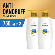 Pantene Shampoo Anti Dandruff Quantum 750ml - PACK OF 2
