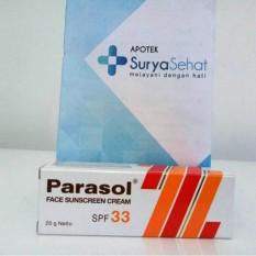 PARASOL FACE SUNSCREEN / SUNBLOCK CREAM SPF 33 20 GR (Orange)