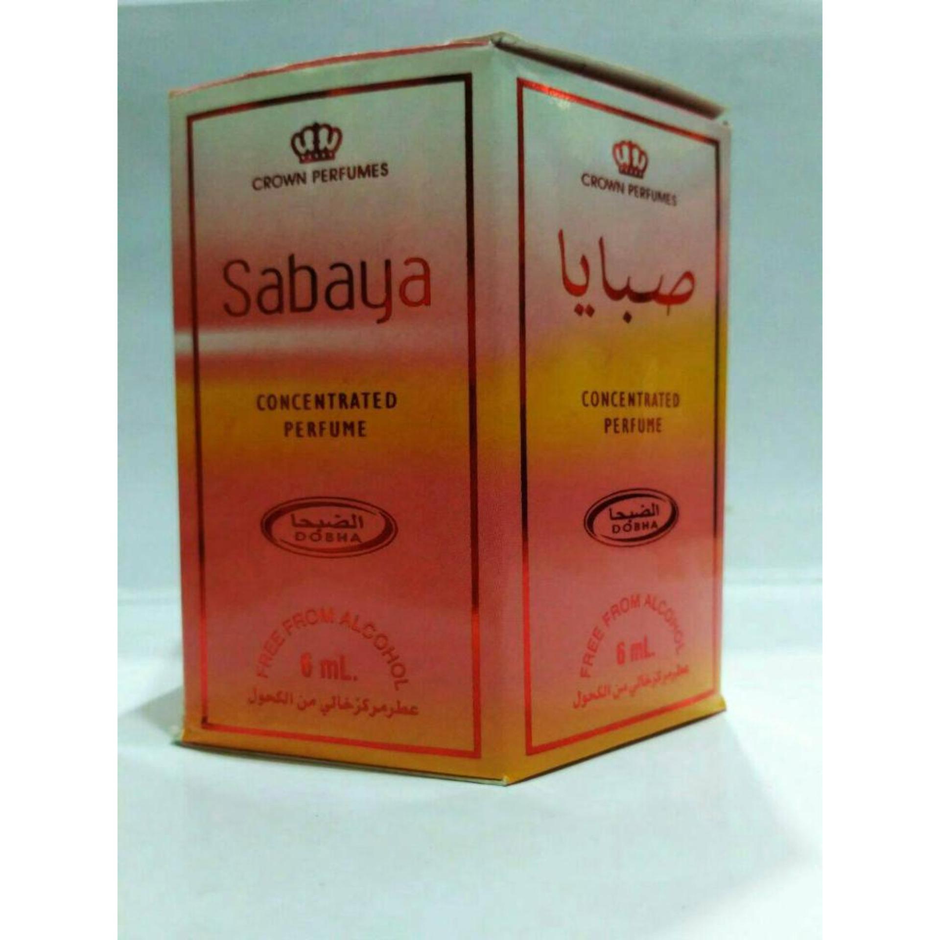 Daftar Harga Parfum Dobha Sabaya 6ml Non Alkohol Untuk 10 Pcs