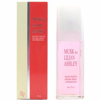 Parfum Original Wanita Musk Lilian Ashley Fresh 70ml