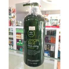 Thickening Spray spray penebal Source Paul Mitchell Tea Tree Lemon Sage Shampoo 1L .