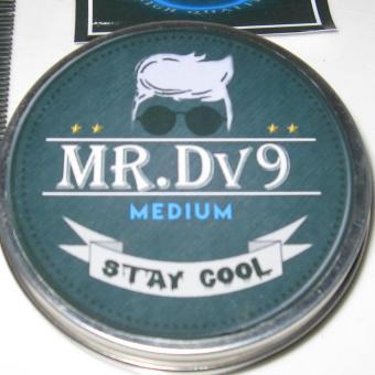 Harga Pomade Mr Dv9 Oil Based Medium Bubble Gum (Free sisir + Stiker ) Murah