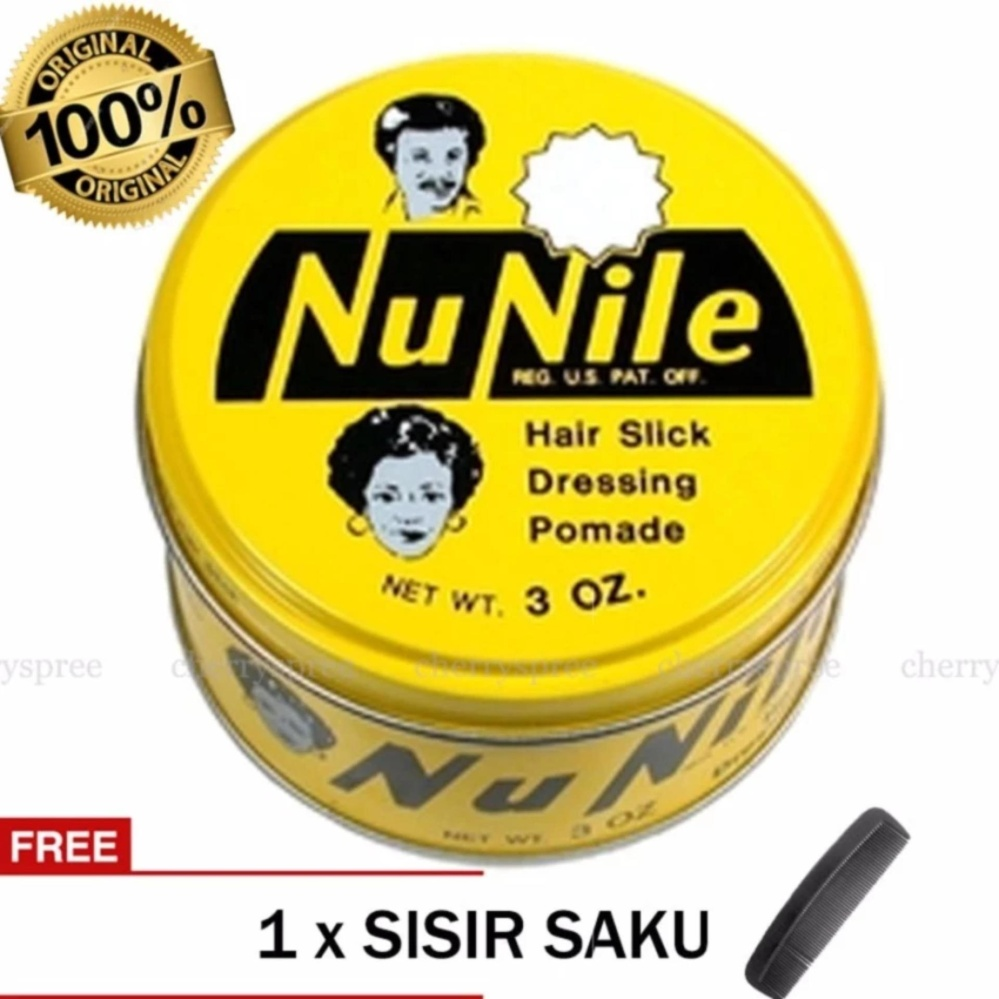 PROMO..! Pomade Nu Nile American Pomade Murray's Nu Nile Original 100% USA Styling Rambut Wax Cream Kuning – 85 g Terbagus