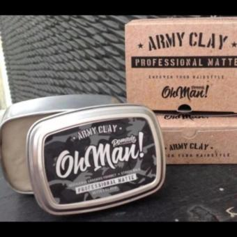 Harga Pomade Oh Man Army Clay The Proffesional Matte Waterbased Water Based Murah