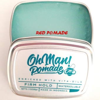 Harga Pomade Oh Man! Nutri Blue Divine Waterbased Firm Hold Water Based Murah