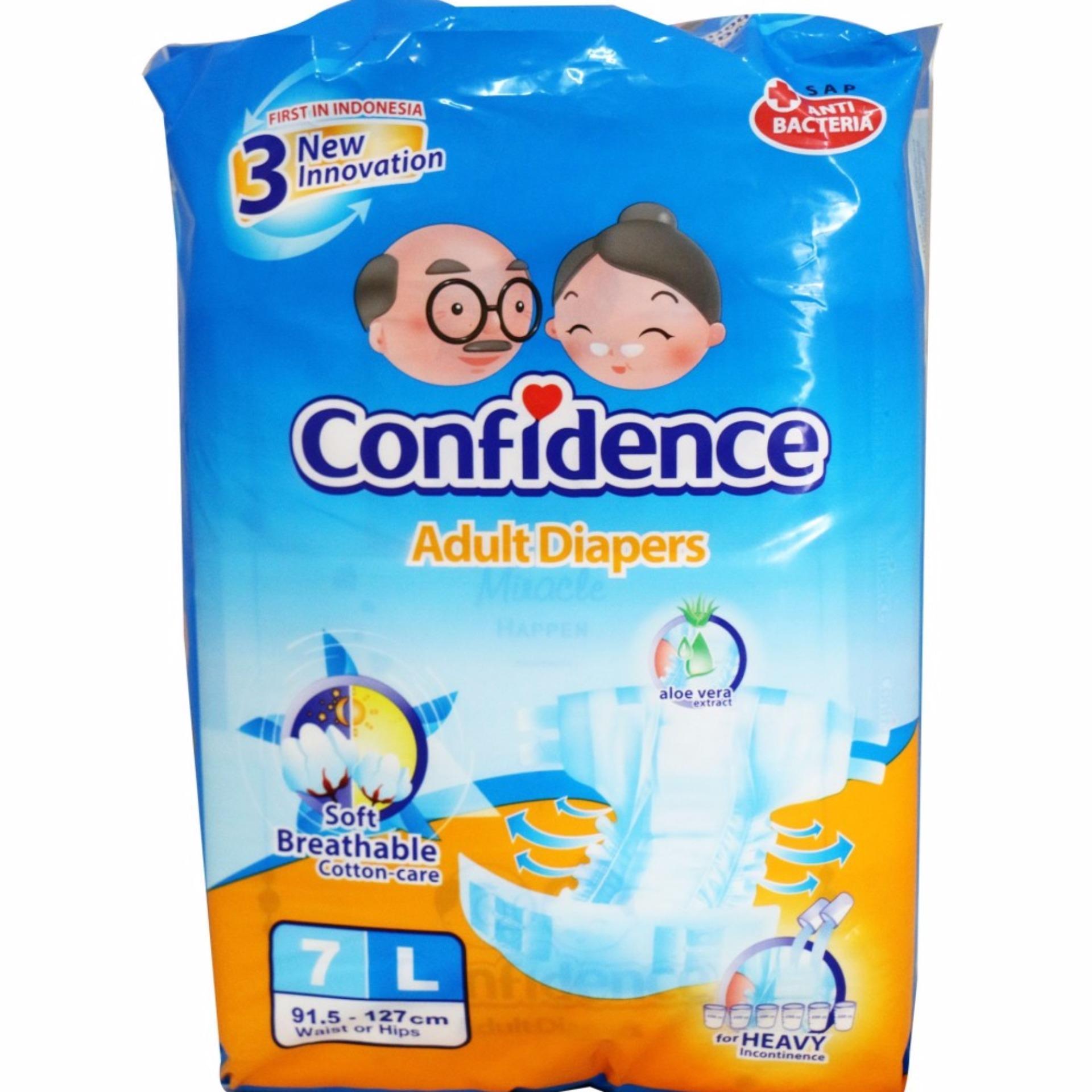 Hot Deals Popok Celana Dewasa Confidence L7 Bandingkan Simpan Supreme Size L Isi 10pcs