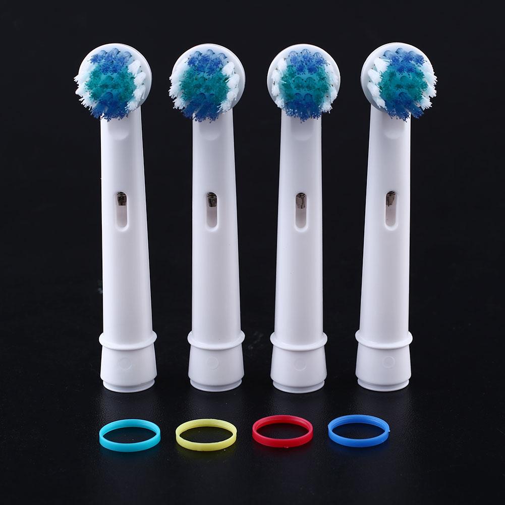 Presisi vitalitas baru 4 buah kepala sikat gigi elektrik untukbenang B lisan .