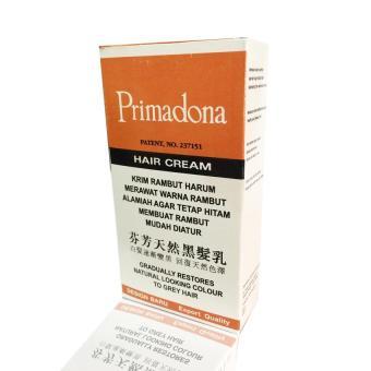 Primadona Hair Cream/Krim Penghitam Rambut