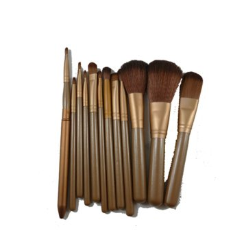 Profesional Protection Kuas Make up Brush - 12 Pcs