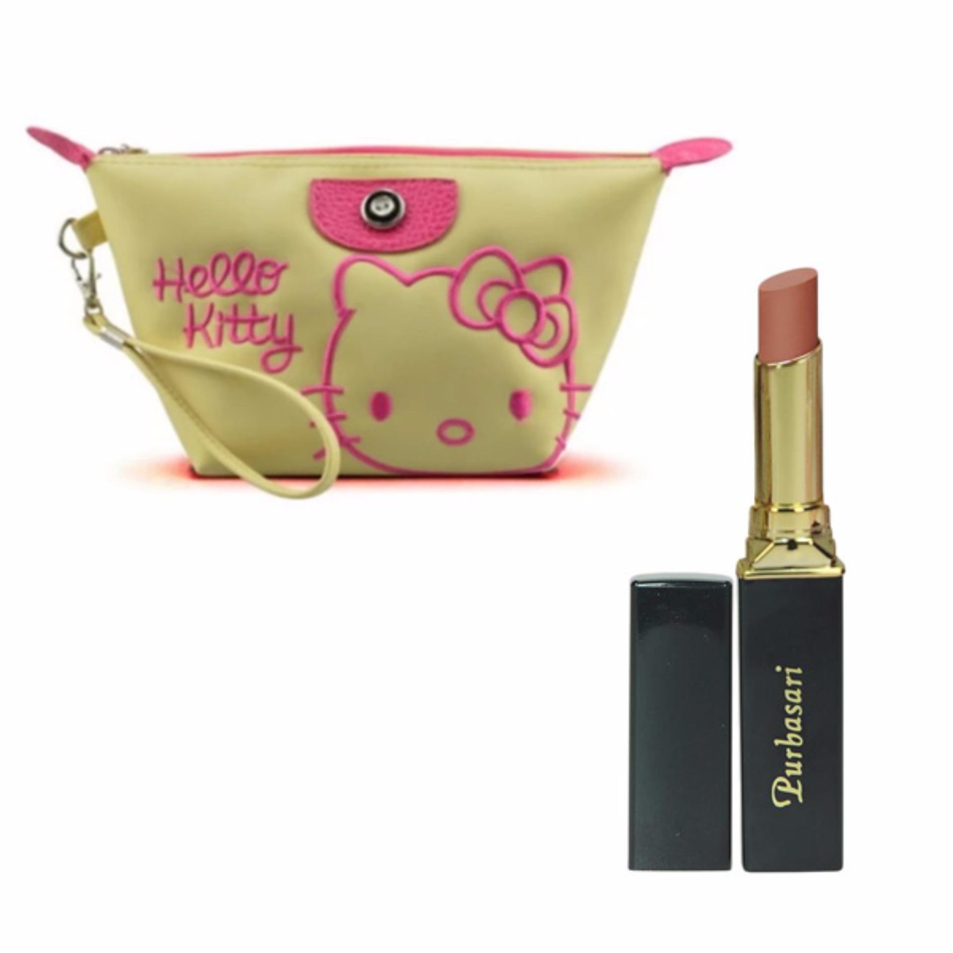 Price Checker Purbasari Lipstick Color Matte 81 Free Alisha Tas Colour Kosmetik Mini202 Hijau Tosca