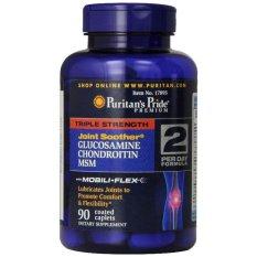 Puritan Pride Triple Strength Glucosamine/Chondroitin & MSM - 90 Capsul