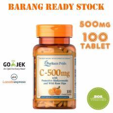 Puritan's Pride Vitamin C 500mg with Bioflavonoids and Rose Hips - 100 kaplet
