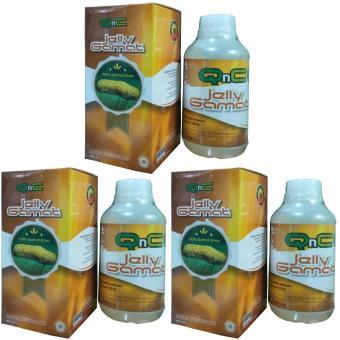 QnC Jelly Gamat Paket Hemat 3 Botol