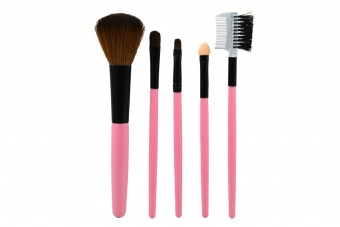 Cari Bandingkan Queen Of The Shine Kuas Make Up Brush Set 004 (Pink) Perbandingan harga