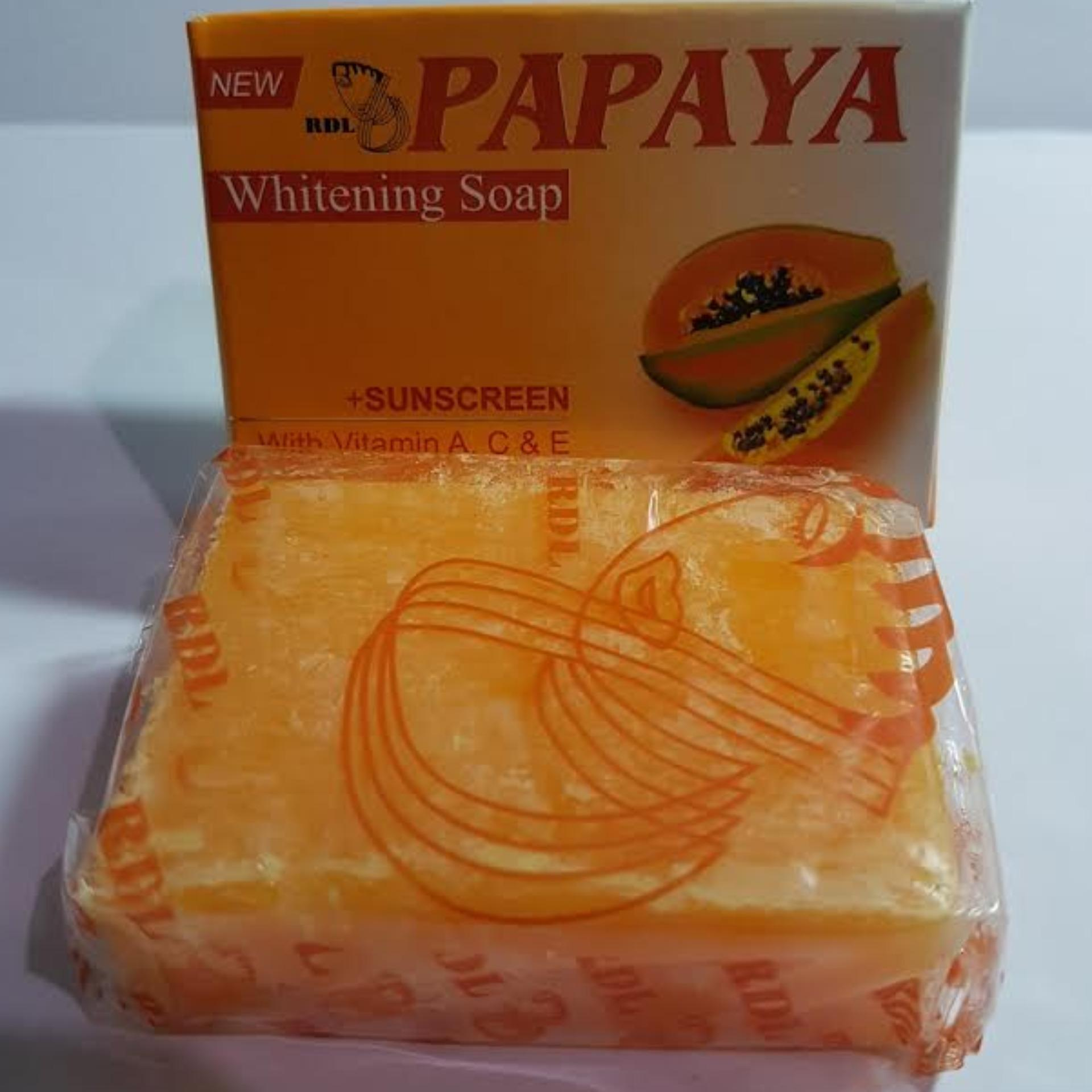 Daftar Harga Rdl Sabun Papaya 80gr Penawaran Brightening Original Bpom By Mamaya