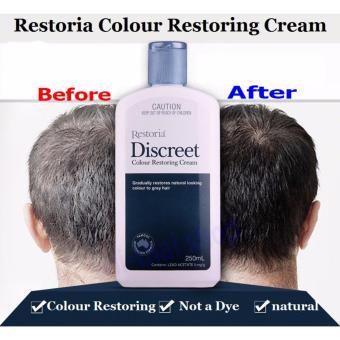 Harga Restoria Discreet Hair Colour Restoring Cream – 150 ml Murah