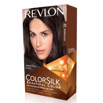 Harga Revlon Color Silk Hair Color – Brown Black Murah