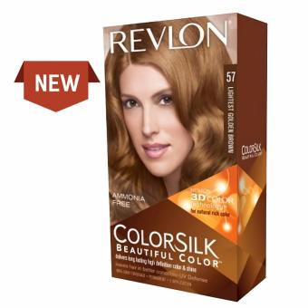 Harga Revlon ColorSilk Beautiful Color – 57. Lightest Golden Brown Murah