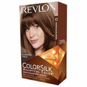 Harga Revlon Colorsilk beautiful Color – no.43 Medium Golden Brown Murah