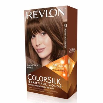 Revlon ColorSilk Hair Color - Medium Golden Brown
