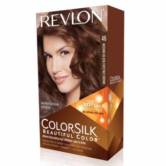 Revlon ColorSilk Hair Color - Medium Golden Chestnut Brown