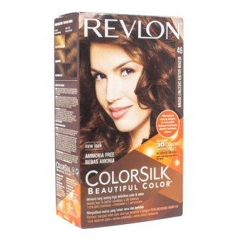Harga Revlon Hair Colorsilk Chesnut Brown 46 Murah