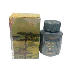 RICKO JAYA Kianpi Ginseng Pil Penggemuk Herbal Gold - 60 Capsul