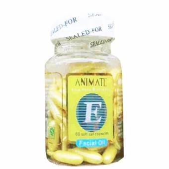 Serum Vitamin Wajah Animate Aloe Vera Facial Oil - 60 Softgels