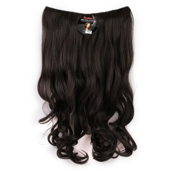 Harga Seven 7 Revolution Hair Clip Keriting Wavy Black Big Layer 60 cm – Hitam / Hairclip Korea Murah
