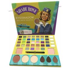 Shade Rose Eyeshadow And Brow Palette Eyeshadow 44 Colors The Balm Palette Besar By BBBRose Cosmetic