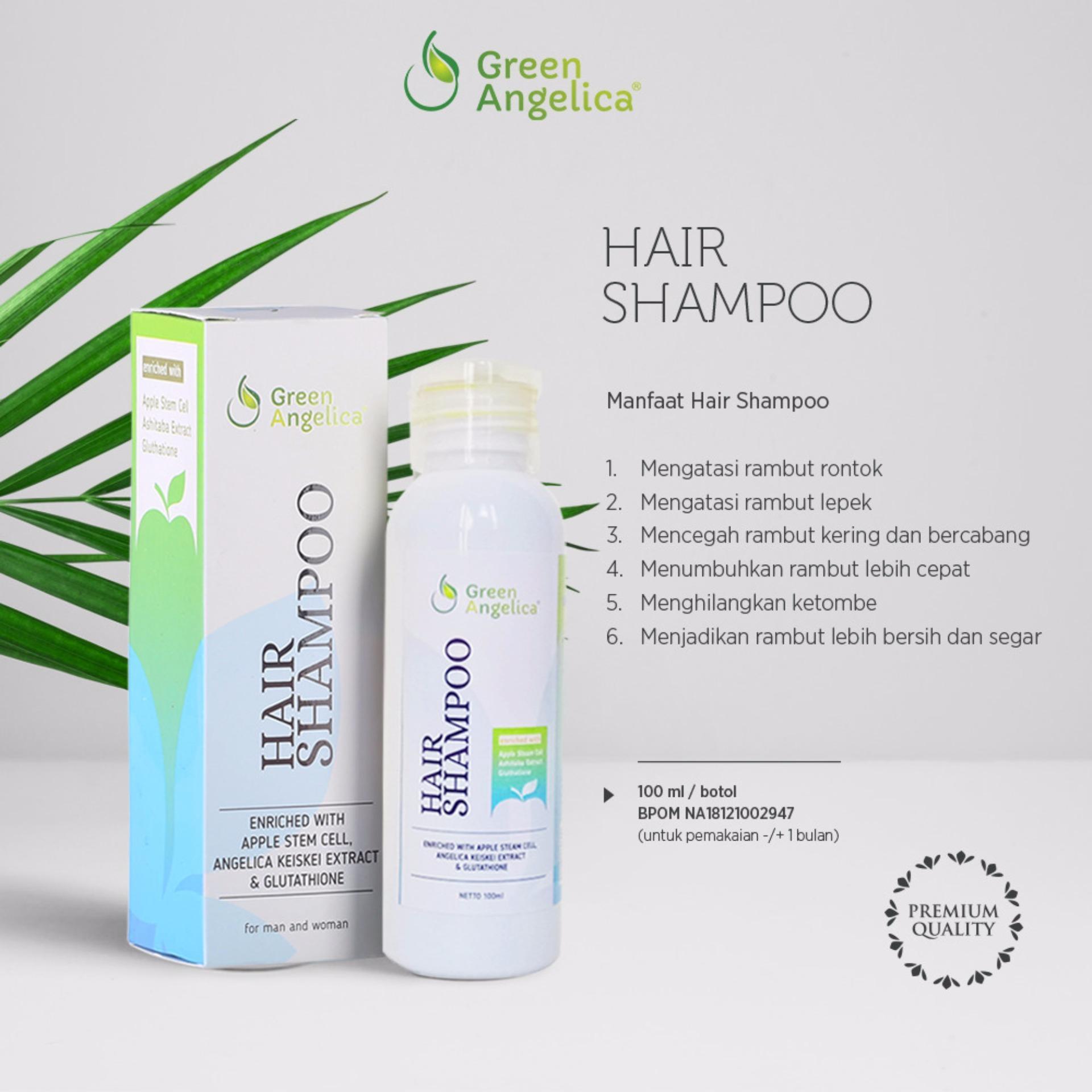 Shampo Penumbuh Rambut Cepat Panjang dan Lebat - Menebalkan Rambut by Green  Angelica ... 26b838ae08