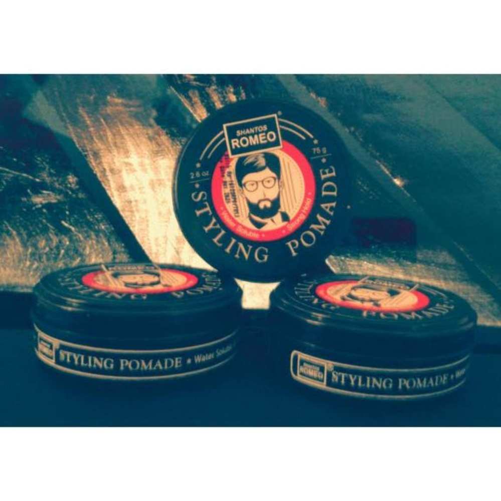 Shantos Romeo Styling Pomade 26 oz x 3 pieces