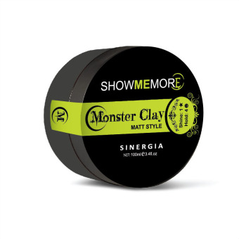 Showmemore Pomade Hair Styling Monster Clay - 100 Ml