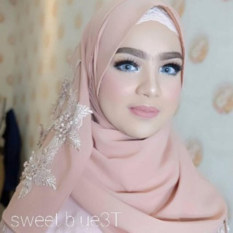 softlens sweet blue 3T
