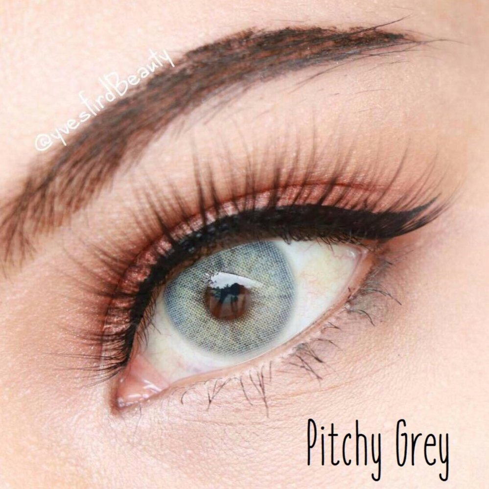 ... Softlens Sweety Pitchy - Grey - Gratis Lens Case ...