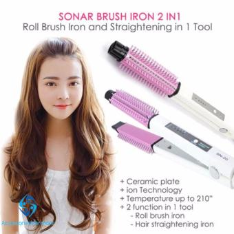 Sonar SN-20 2in1 Hair Straighteners and Curler - Catokan