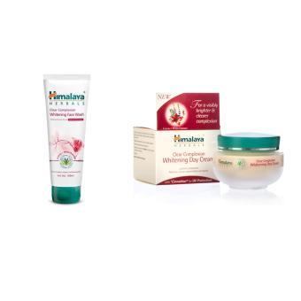 StarStore Himalaya Skin Whitening Set - Himalaya Whitening Day Cream 50g & Himalaya Clear Complexion Whitening Face Wash 100ml Paket Combo