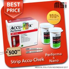 Strip Tes Accu Chek Performa isi 100 (gula darah)