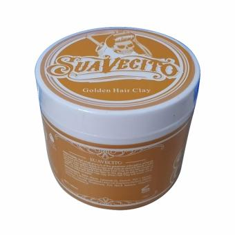 Suavecito Gold Clay Hair Coloring Clay Wax Pomade Warna Non Permanent Warna Emas